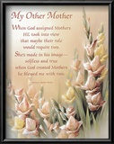 My Other Mother Print by T. C. Chiu