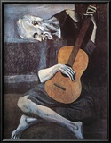The Old Guitarist, c.1903 Pôsters por Pablo Picasso