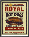 Royal Hot Dogs Posters by Joe Giannakopoulos