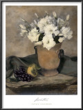 Lisianthus Prints by Laurie Eastwood