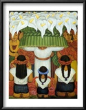Flower Festival: Feast of Santa Anita, 1931 Posters by Diego Rivera