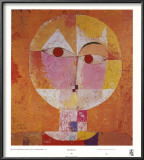 Senecio Print by Paul Klee