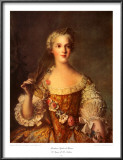 Madame Sophie de France Print by Jean-Marc Nattier