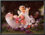 Baby Angel Prints by Joyce Birkenstock