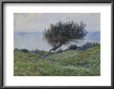 Sea Coast at Trouville Print by Claude Monet