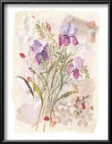 Irises Posters by Maxine Collins
