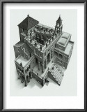 Ascending and Descending Posters by M. C. Escher