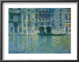 Palazzo Da Mula, Venice Print by Claude Monet