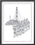 Golden Gate Print by Avery Tillmon