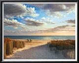 Sunset Beach Art by Daniel Pollera