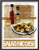 Salad Nicoise Prints by Nancy Overton
