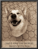 Smile and the World Smiles with You Art by Jim Dratfield