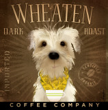 Wheaten Dark Roast Poster by Stephen Fowler