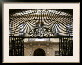 Wrought Iron Entryway Framed Photographic Print