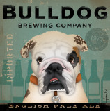 Bulldog Brewing Psters por Stephen Fowler