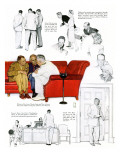 """So You Want to See the President"" C, November 13,1943 Giclee Print by Norman Rockwell"