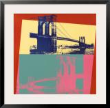 Brooklyn Bridge, 1983 Art by Andy Warhol