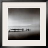 Foggy Morning, Shikotsu Lake, Hokkaido, Japan, 2004 Poster by Michael Kenna