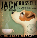 Jack Russel Coffee Co. Poster von Stephen Fowler