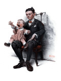 """Portrait"", July 9,1921 Giclee Print by Norman Rockwell"
