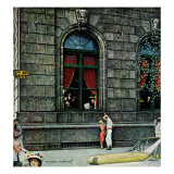 """University Club"", August 27,1960 Giclee Print by Norman Rockwell"