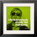 Everybody Poster by Andy Warhol