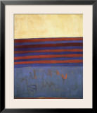 Your Lips Are Blue, c.1958 Print by Frank Stella
