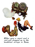"""The Wonderful Life of Wilbur the Jeep"" B, January 29,1944 Giclee Print by Norman Rockwell"
