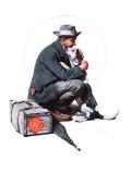"""""""Man and Dog"""" or """"Pals"""", September 27,1924 ジクレープリント : ノーマン・ロックウェル"""