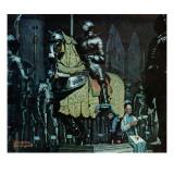 """""""Armor"""", November 3,1962 Reproduction procédé giclée par Norman Rockwell"""