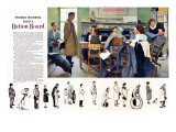 """""""Norman Rockwell visit a Ration Board"""", July 15,1944 Giclee Print by Norman Rockwell"""