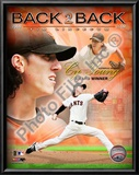 Tim Lincecum 2009 National League Cy Young Award Winner Art
