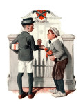 """Rivals"", September 9,1922 Giclee Print by Norman Rockwell"