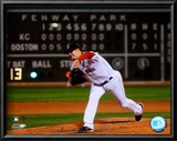 Jon Lester's 2008 No Hitter Action; Horizontal Prints