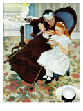 &quot;The Handkerchief&quot;, January 27,1940 Giclee Print by Norman Rockwell