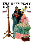 """Dressmaker"" Saturday Evening Post Cover, January 31,1931 Giclee Print by Norman Rockwell"