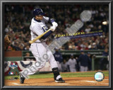 Evan Longoria Most Postseason Home Runs by a Rookie 2008 ALCS Game 4 Art