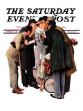 """Hollywood Starlet"" Saturday Evening Post Cover, March 7,1936 Giclee Print by Norman Rockwell"