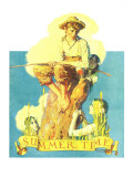 &quot;Summertime, 1933&quot;, August 5,1933 Giclee Print by Norman Rockwell