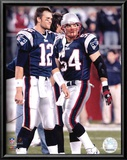Tom Brady  and Tedy Bruschi Prints