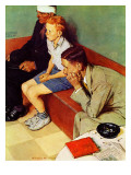 October 16,1937 Impression giclée par Norman Rockwell
