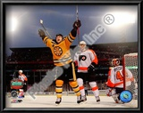 Marco Sturm Game Winning Goal Horizontal 2010 NHL Winter Classic Print