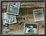 Bobby Thomson - 1951 Home Run PF Gold Composite (Limited Edition) Posters