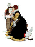 """Summer stock"", August 5,1939 Giclee Print by Norman Rockwell"