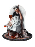 """Daydreams"" ""Cinderella"", November 4,1922 Giclee Print by Norman Rockwell"