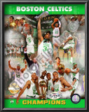 2008 Boston Celtics NBA Finals Champions, PF Gold Limited Edition Posters