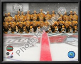 The Boston Bruins Team Photo 2010 NHL Winter Classic Poster