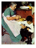 """Down-East  Ambrosia"", March 19,1938 Giclee Print by Norman Rockwell"