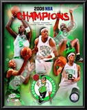 2007-08 Boston Celtics NBA Champions Prints