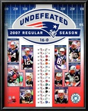 Patriots Undefeated Posters